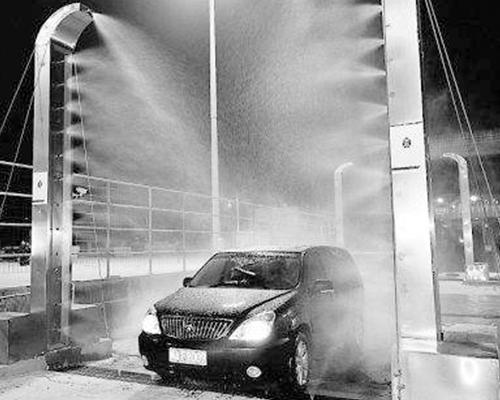 车辆喷淋消毒系统
