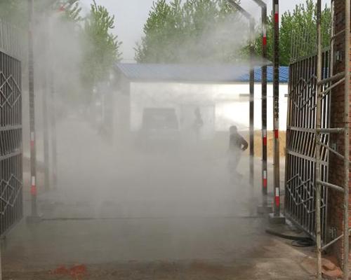 运输车喷淋消毒设备